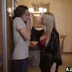 MIILF caliente Alexis Fawx folla con su hijastro Tyler Nixon