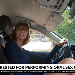 Profesor arrestado por dejarse hacer sexo oral por la estudiante Leah Winters