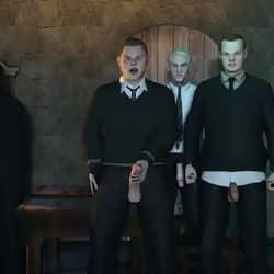 Harry Potter hentai follando en una orgía