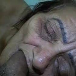 Abuela brasileña disfrutando del sexo en POV