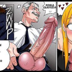 Comics XXX de una jovencita tragona follando con su padre