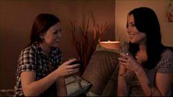 Puta lesbiana Karlie Montana se folla a la nueva novia de su padre Brazzers