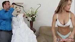 Traiciona a su marido el mismo día de la boda